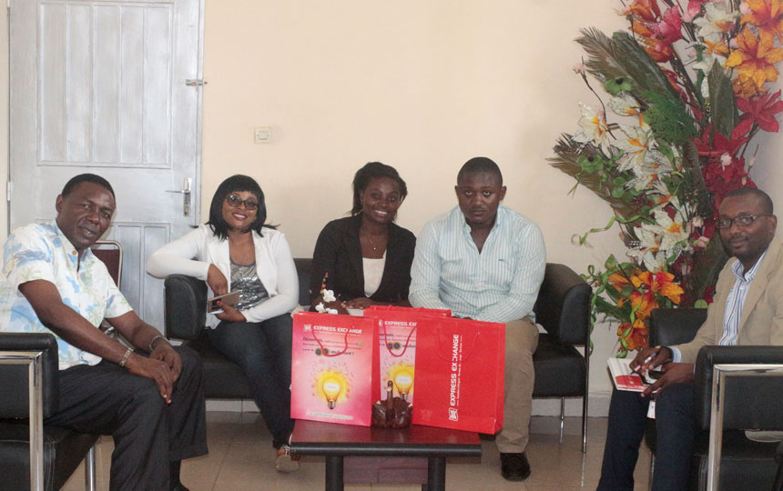 Express Exchange Buea Pays Courtesy Visit to CUIB