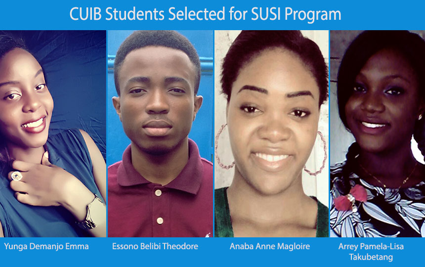 CUIB Students selected for SUSI