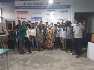 CUIB SIT Students of Douala Campus drilled on startup IT businesses at ActiveSpaces Douala